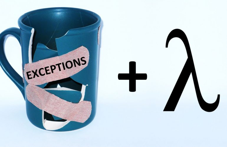 Exceptions and Streams